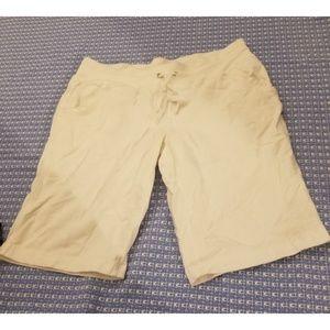 White danskin now women's shorts